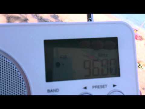 Radio Alpha, Lemnos interchanging with BNR Bulgaria FM 96.0 in Lagonisi, Halkidiki