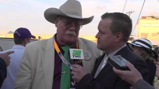 TVG emotional interview with winning Kentucky Derby and Preakness owner.