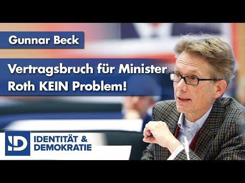 Vertragsbruch für Minister Roth KEIN Problem! | G. Beck