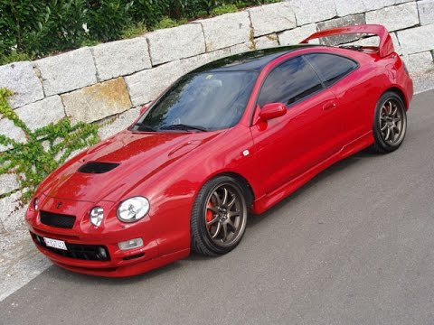 Loud Toyota Celica GT-4 ST205 exhaust sound - YouTube