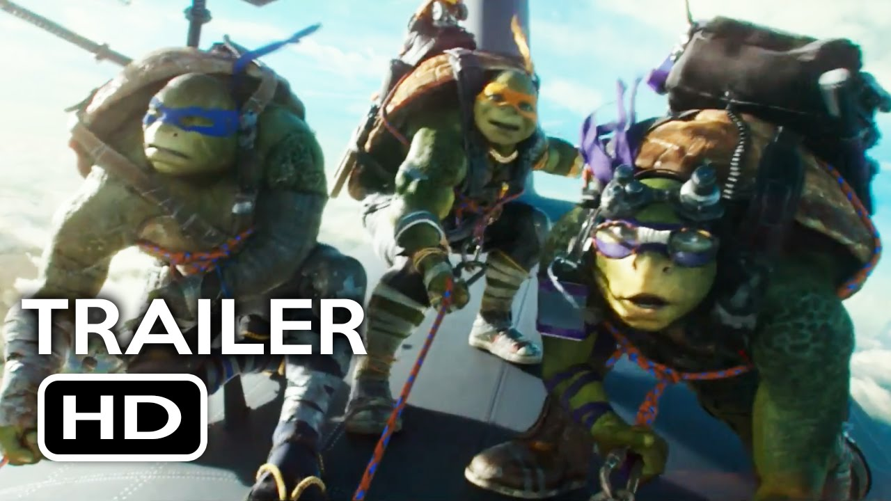 Teenage Mutant Ninja Turtles 2 Official Trailer 2 2016 Megan Fox Action Movie Hd Youtube
