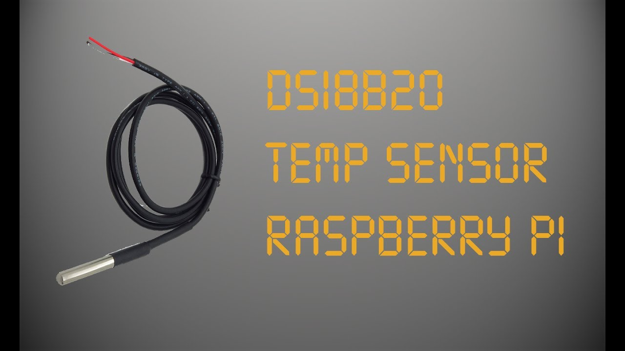 Temperature Sensor Ds18b20 Raspberry Pi Youtube Sci Fi Wiring Diagram