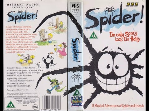 Spider! -  I'm Only Scary 'Cos I'm Hairy [VHS] (1992)