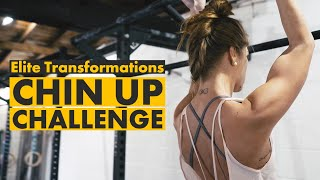 Elite Transformations | Chin-Up Challenge | Hertfordshire Video Production Company