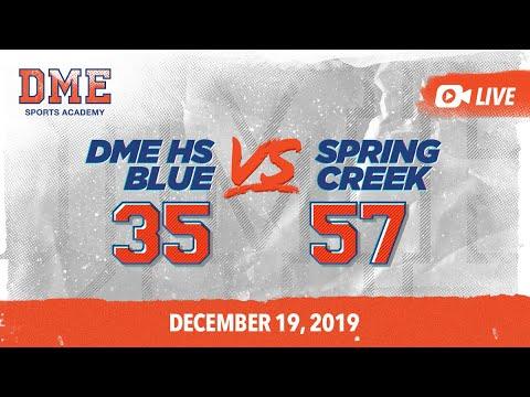 DME HS Blue vs Spring Creek