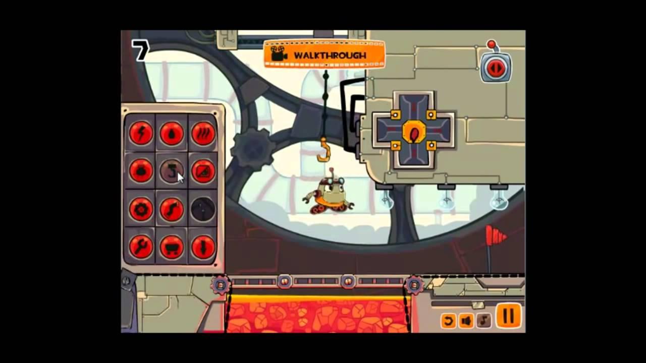 robo trobo level 7 walkthrough youtube