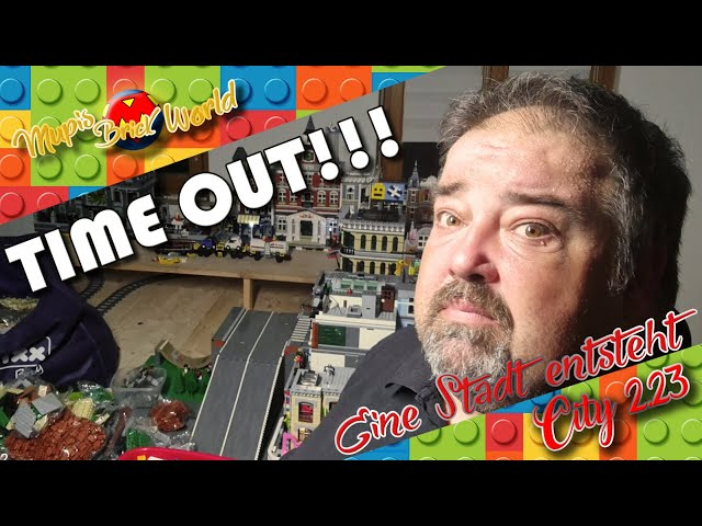 TIME OUT !!! - Bau einer Lego Stadt - Lego City Update 23