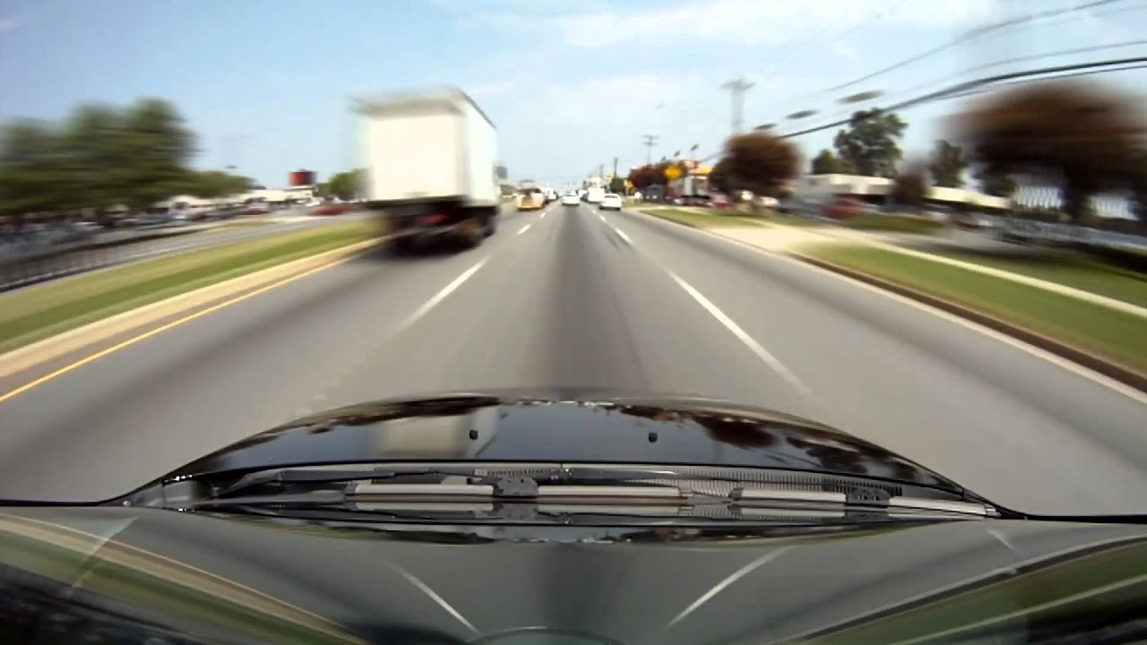 Fast Driving - POV car camera- Charlotte NC, GoPro Hero. - YouTube