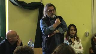 Francesco Cito incontra i ragazzi della scuola Fieramosca di Barletta