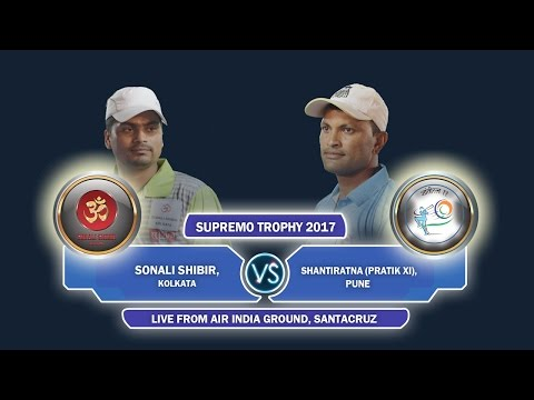 Sonali Shibir, Kolkata Vs Shantiratna Pratik XI, Pune Supremo Trophy 2017 Day 3
