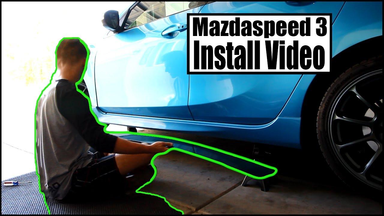 Aan 3 Youtube Van Installeren De Mazdaspeed Uitbreidingen Zijkant Yf6gybvI7