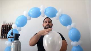 Lost a balloon on the ceiling? This trick gets all your helium ball...
