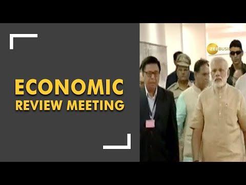 PM Modi holds economic review meet