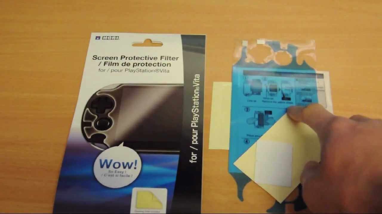 How To Psvita Hori Screen Protector Install Youtube Tempered Glass For New 3ds Xl Ll