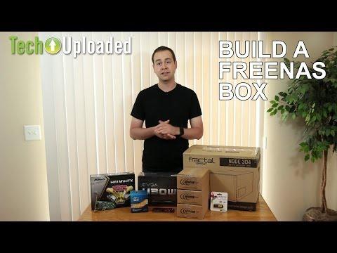 Build a FreeNAS box - Core i3, 3x2 TB, Fractal Node 304