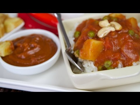EASY 5 minute Curry Sauce Recipe - Amazing as Dipping Sauce too!