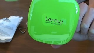 Lepow Moonstone 6000mAh Power Bank Unbox/Review