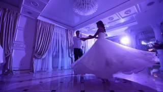 Свадебный танец.Медленный вальс. Павел и Кристина