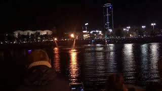 Екатеринбург - День города - Флайборд - Огонь - Исеть