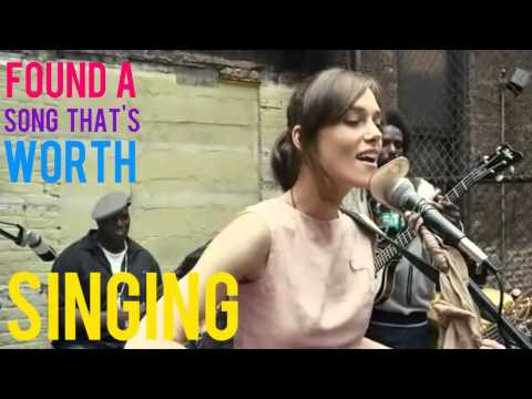 Keira knightley - Coming Up Roses(Lyrics and Scene) Begin Again