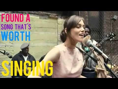 Keira knightley  Coming Up RosesLyrics and Scene Begin Again