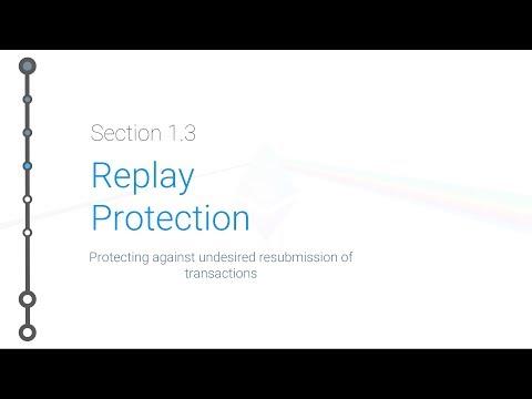 Cryptoeconomics - 1.3 - Replay Protection
