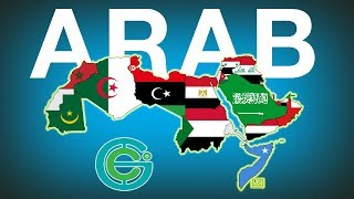 The Difference Between Arab Countries  Geography Now!