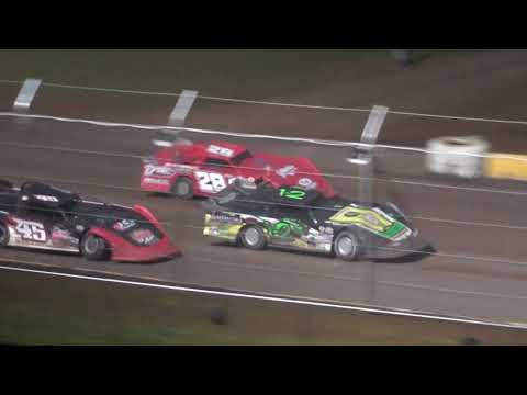 NASCAR Late Model Feature - Cedar Lake Speedway 08/03/2019