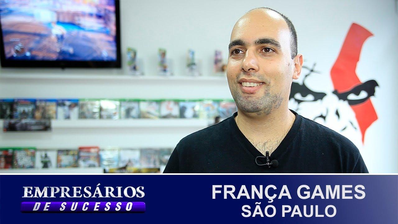 FRANÇA GAMES, SÃO PAULO, EMPRESÁRIOS DE SUCESSO - YouTube ec5adc907d