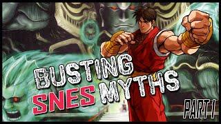 Busting Super Nintendo Myths - SNESdrunk
