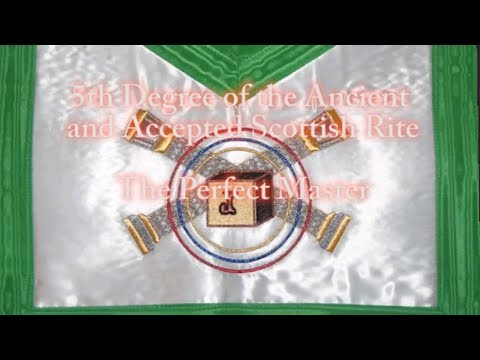 5th degree of th Ancient and Accepted Scottish Rite - Perfect Master