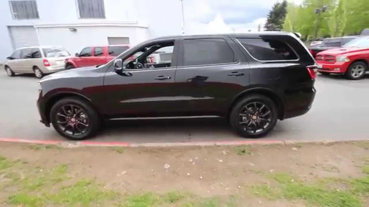 2015 Dodge Durango R T Awd Black Fc837595 Redmond