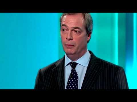 Nigel Farage: During the 2014 European election debate