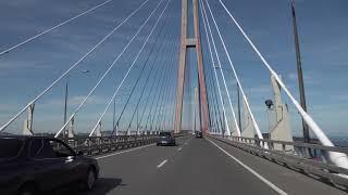 Driving in Vladivostok - Russian Bridge & Golden Bridge