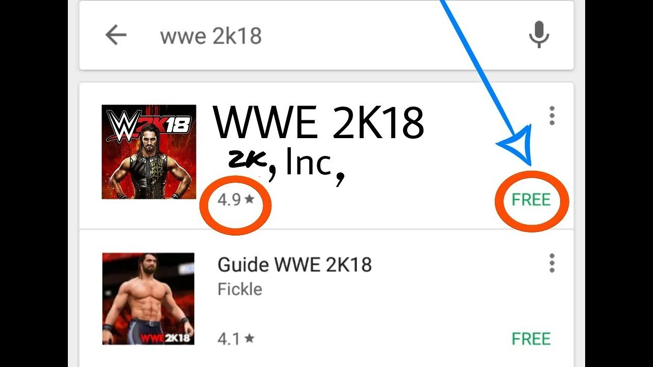 How To Download WWE 2K18 In Android WR3D Mod Download Mp4