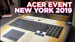 The LAPTOP with the SLIDABLE KEYBOARD ! - Leo @ Acer Event New York 2019