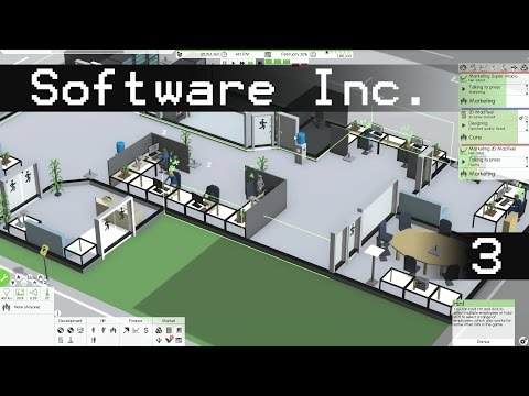 Let's Play Software Inc Episode 3: The New Studio - Software Inc Gameplay
