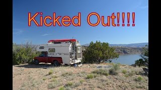 Kicked out at Abiquiu Lake NM, June 2017