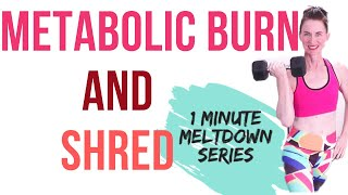 30 MINUTE WORKOUT | METABOLIC BURN & SHRED | CARDIO + STRENGTH TRAINING | WEIGHT LOSS WORKOUT |AFT