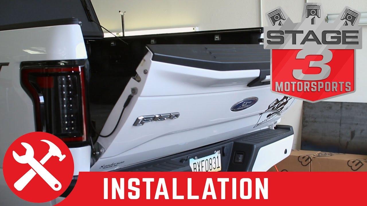 2015 2017 f150 deezee tailgate assist install youtube. Black Bedroom Furniture Sets. Home Design Ideas