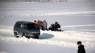 Ледовые гонки Nissan Largo