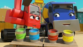 Mixing Colors! | Digley & Dazey : Kids Cartoon & Baby Songs ♫ | Learn Colors & ABCs & 123s