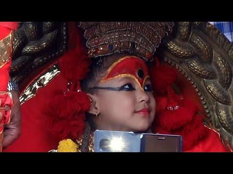 شاهد: طفلة في الرابعة من عمرها إلهة نيبال الجديدة  - نشر قبل 37 دقيقة