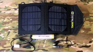 Goal Zero Switch 8 Solar Charging Kit Review- Power anywhere there is sun.