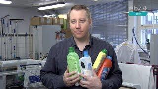 видео Профессиональные моющие средства для уборки помещений