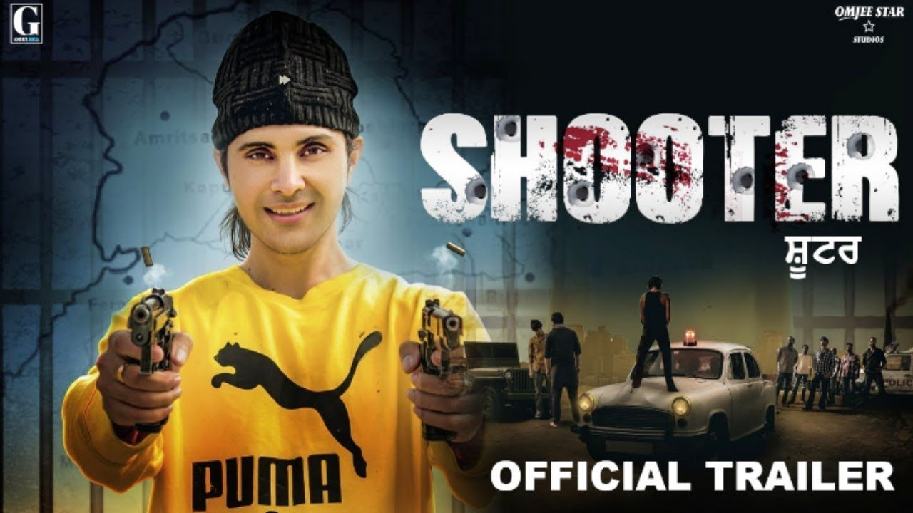 SHOOTER - Official Movie Trailer - Jay Randhawa  - New Punjabi Film 2020