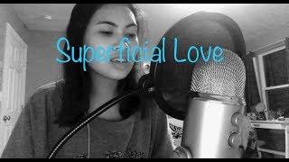 Superficial Love - Ruth B. Cover
