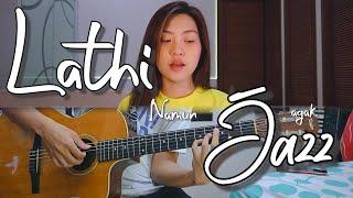 Weird Genius - Lathi (ft. Sara Fajira)   by Nadia & Yoseph (NY Cover)