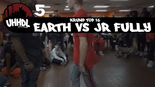 Earth vs JR Fully | Krump Top 16 | Underground Hip Hop Dance League | #UHHDL