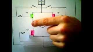 H Bridge Dc Motor. - Bi Directional - Very Simple.